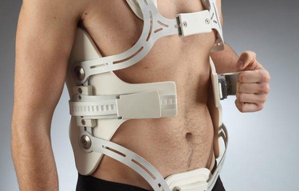 Преразтягащ медицински корсет за тяло 4 точки