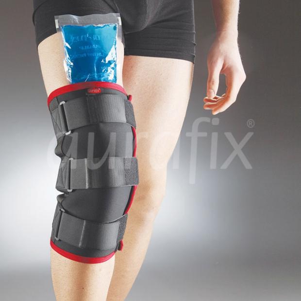 Болка в коляното топло или студено
