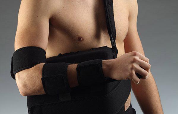 Подвижен гипс за травми в лактите