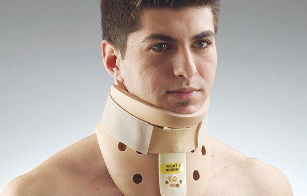 Ортопедична яка за нараняване на меките тъкани